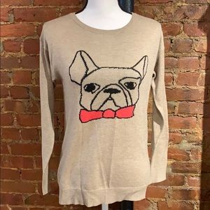 Willow & Clay French Bulldog Sweater - XS